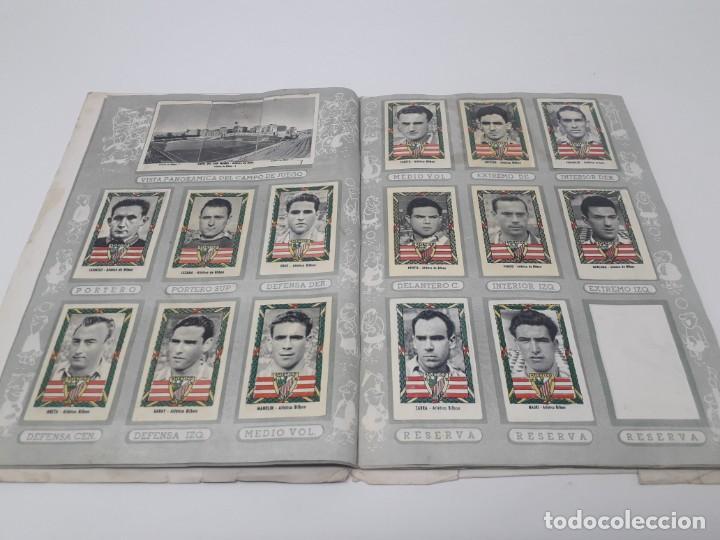Coleccionismo deportivo: Albúm de Fútbol Campeonatos Nacionales de Fútbol 1954 Incompleto (faltan 49 de 306 números) - Foto 8 - 204800851