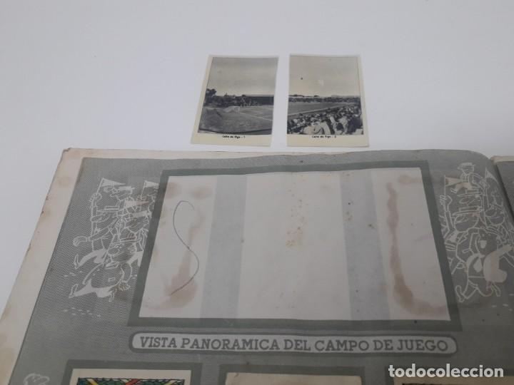Coleccionismo deportivo: Albúm de Fútbol Campeonatos Nacionales de Fútbol 1954 Incompleto (faltan 49 de 306 números) - Foto 13 - 204800851