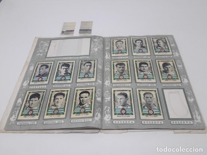 Coleccionismo deportivo: Albúm de Fútbol Campeonatos Nacionales de Fútbol 1954 Incompleto (faltan 49 de 306 números) - Foto 15 - 204800851