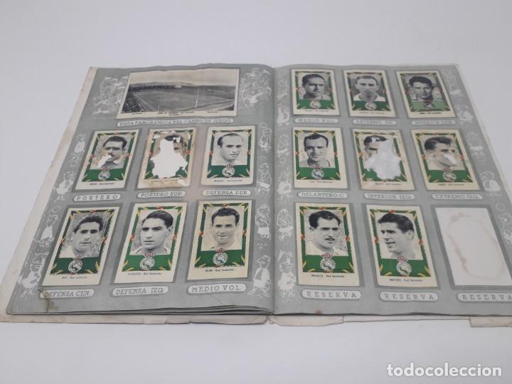 Coleccionismo deportivo: Albúm de Fútbol Campeonatos Nacionales de Fútbol 1954 Incompleto (faltan 49 de 306 números) - Foto 21 - 204800851