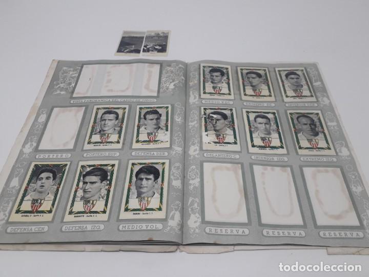 Coleccionismo deportivo: Albúm de Fútbol Campeonatos Nacionales de Fútbol 1954 Incompleto (faltan 49 de 306 números) - Foto 24 - 204800851