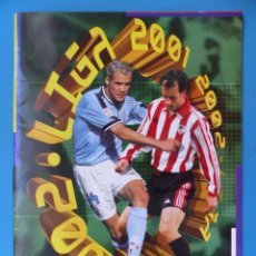 Coleccionismo deportivo: ALBUM CROMOS - LIGA 2001-2002 01-02 - ED. ESTE - PLANCHA CASI VACIO, SOLO TIENE DOS CROMOS PEGADOS. Lote 205036170