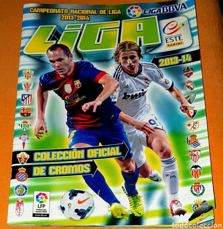 2013/14 COLECCIÓN OFICIAL DE CROMOS LIGA BBVA. COLECCIÓN ESTE. INCOMPLETO. 211 CROMOS. (Coleccionismo Deportivo - Álbumes y Cromos de Deportes - Álbumes de Fútbol Incompletos)
