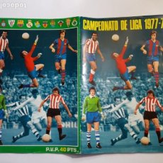 Colecionismo desportivo: DISGRA - CAMPEONATO DE LIGA 1977 78 - 77 1978 - ALBUM DE CROMOS NO COMPLETO. Lote 205099660