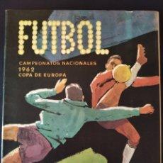 Coleccionismo deportivo: RUÍZ ROMERO 1962 ÁLBUM PLANCHA VACIO. Lote 205315223
