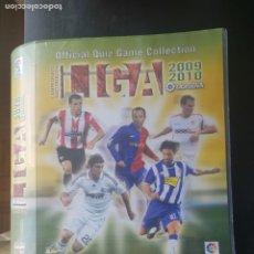 Coleccionismo deportivo: ÁLBUM CROMOS CARDS FICHAS DE LA LIGA 2009-2010 + 227 OFFICIAL QUIZ GAME COLLECTION MUNDICROMO 09-10. Lote 205522215