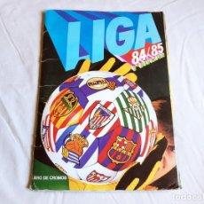 Coleccionismo deportivo: ALBUM DE CROMOS DE FUTBOL DE LA LIGA 84 85 - TIENE 379 CROMOS - EDICIONES ESTE. Lote 205594515