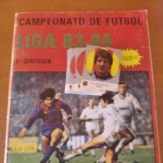 Coleccionismo deportivo: RARO ÁLBUM LIGA 83 84 EDITORIAL J.MERCHANTE. Lote 205686916