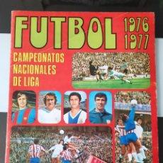 Coleccionismo deportivo: ÁLBUM CROMOS FÚTBOL CAMPEONATOS NACIONALES LIGA RUÍZ ROMERO 1976 77 VACÍO PLANCHA + SOBRE PRECINTADO. Lote 206189330