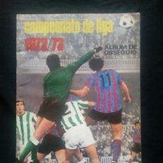 Coleccionismo deportivo: ALBUM CROMOS VACIO PLANCHA CAMPEONATO DE LIGA 72 / 73 1972 1973 ESTE NUEVO IMPOLUTO POR DENTRO. Lote 206347086