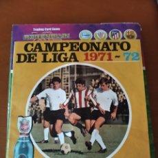 Coleccionismo deportivo: CAMPEONATO DE LIGA 71 72 LA CASERA. Lote 206819355