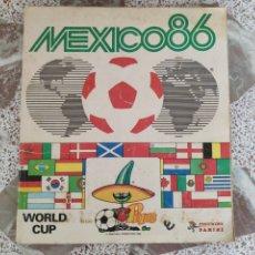 Coleccionismo deportivo: ÁLBUM PANINI MUNDIAL MÉXICO 86 INCOMPLETO. Lote 206846142
