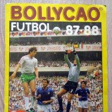 Coleccionismo deportivo: ÁLBUM FÚTBOL 87 - 88 BOLLYCAO. Lote 206934473