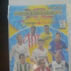 Coleccionismo deportivo: ALBUM DE CROMOS DE FUTBOL ADRENALYN LIGA 2017 -18 DE PANINI , CON 236 CROMOS. Lote 207155951