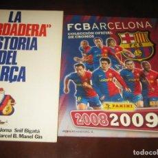 Coleccionismo deportivo: FUTBOL CLUB BARCELONA - 2008-09 - COMPLETO Y EN MUY BUEN ESTADO. Lote 207237553