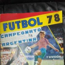 Coleccionismo deportivo: CAMPEONATO MUNDIAL ARGENTINA 78 ( PEGADOS EN UN ALBUM AL QUE NO CORRESPONDEN ) INCOMPLETO. Lote 207285602