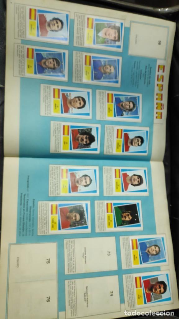 Coleccionismo deportivo: CAMPEONATO MUNDIAL ARGENTINA 78 ( PEGADOS EN UN ALBUM AL QUE NO CORRESPONDEN ) INCOMPLETO - Foto 3 - 207285602