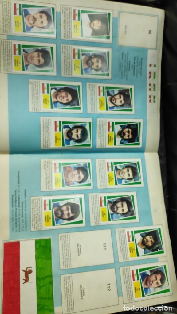 Coleccionismo deportivo: CAMPEONATO MUNDIAL ARGENTINA 78 ( PEGADOS EN UN ALBUM AL QUE NO CORRESPONDEN ) INCOMPLETO - Foto 9 - 207285602