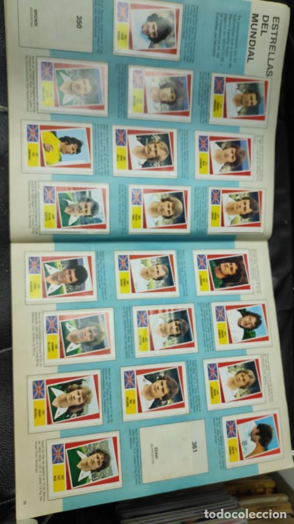 Coleccionismo deportivo: CAMPEONATO MUNDIAL ARGENTINA 78 ( PEGADOS EN UN ALBUM AL QUE NO CORRESPONDEN ) INCOMPLETO - Foto 20 - 207285602