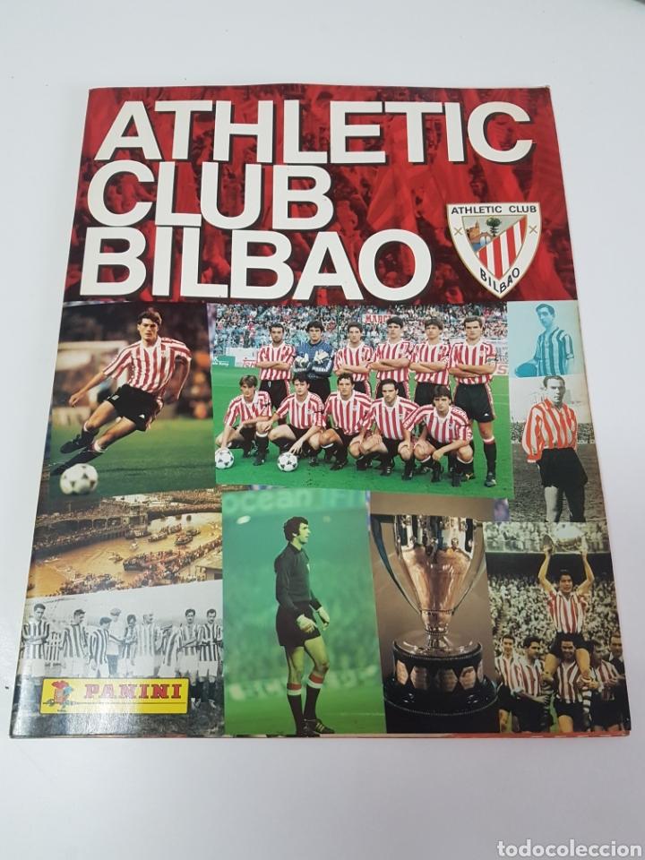 ALBUM PLANCHA ATHLETIC CLUB BILBAO PANINI (IMPOLUTO) (Coleccionismo Deportivo - Álbumes y Cromos de Deportes - Álbumes de Fútbol Incompletos)