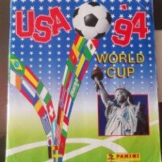 Coleccionismo deportivo: ALBUM CROMOS FUTBOL 1994 PANINI MUNDIAL USA 94 SOCCER WORLD CUP NO WRITTEN SCORES BE. Lote 235685860