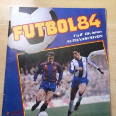 Coleccionismo deportivo: ÁLBUM PLANCHA FUTBOL 84 PANINI. NO ESTE. Lote 209018145