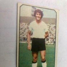 Colecionismo desportivo: CROMO NUNCA PEGADO ANGEL SALAMANCA COLOCA LIGA 77/78 EDITORIAL ESTE. Lote 209941920