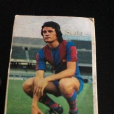Coleccionismo deportivo: CROMO NUNCA PEGADO ALBADALEJO BARCELONA ULTIMO FICHAJE LIGA 1974/75 EDITORIAL ESTE. Lote 209958410