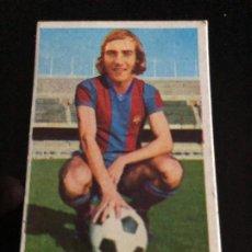 Coleccionismo deportivo: CROMO NUNCA PEGADO NEESKENS BARCELONA ULTIMO FICHAJE NUMERO 1 LIGA 1974/75 EDITORIAL ESTE. Lote 209958496