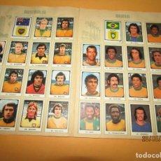Coleccionismo deportivo: ANTIGUO ÁLBUM FUTBOL CAMPEONATOS MUNDIALES MUNICH 1974 DE EDITORIAL RUIZ ROMERO. Lote 209959007