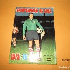 Coleccionismo deportivo: ANTIGUO ÁLBUM DE FÚTBOL CAMPEONATO DE LIGA 1975 1976 DE DISGRA FHER. Lote 209965945
