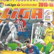 Coleccionismo deportivo: OPORTUNIDAD 4 ALBUMES DE LA LIGA 2018/19 CON 30 CROMOS CADA UNO SIN ESTRENAR. Lote 210396343