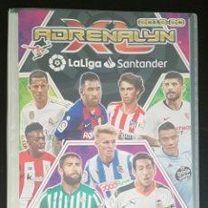 Coleccionismo deportivo: ALBUM DE FUTBOL ADRENALYN, TEMPORADA 2019-20 - CONTIENE 154 CROMOS. Lote 210471762