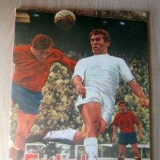Coleccionismo deportivo: FUTBOL 1 Y 2 DIVISION 1968-69 FHER ALBUM EN UN ESTADO IMPECABLE, PUESTAS TODAS PAGINAS. Lote 210554997