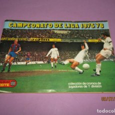 Coleccionismo deportivo: ANTIGUO ÁLBUM CAMPEONATO DE LIGA 1975 - 76 DE EDICIONES ESTE. Lote 210577695