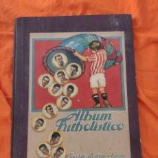 Colecionismo desportivo: ANTIGUO ALBUM FUTBOL FUTBOLISTICO DE CHOCOLATES RODRÍGUEZ SERRANO DEL AÑO 1933-34 VACÍO. Lote 210592363