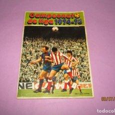Coleccionismo deportivo: ANTIGUO ÁLBUM DE FÚTBOL CAMPEONATO DE LIGA 1974 - 75 DE DISGRA FHER. Lote 210601905