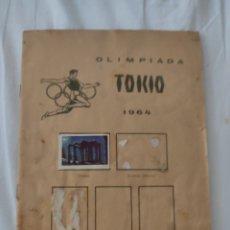 Coleccionismo deportivo: ÁLBUM DEPORTES FÚTBOL MUY ANTIGUO AÑO 1964. Lote 210785011