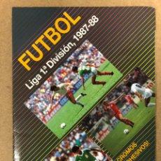 Coleccionismo deportivo: FUTBOL LIGA 1ª DIVISIÓN 1987-88. ÁLBUM DE CROMOS FESTIVAL, 184 CROMOS DE 300.. Lote 211513841