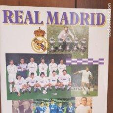 Coleccionismo deportivo: ÁLBUM CROMOS FÚTBOL NUEVO REAL MADRID 1994-1995 PANINI 94-95 65% COMPLETO. Lote 211859552