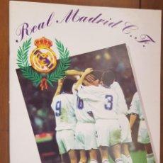 Coleccionismo deportivo: ÁLBUM CROMOS FÚTBOL NUEVO REAL MADRID 1995-1996 MAGIC BOX 95-96 70% COMPLETO. Lote 211860246