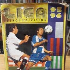 Collezionismo sportivo: ALBUM LIGA FUTBOL 1ª DIVISION 95 / 96 - COLECCIONES ESTE FALTAN 73. Lote 211950810