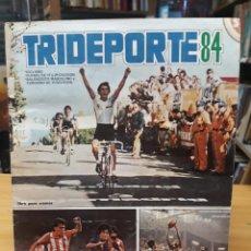 Coleccionismo deportivo: TRIDEPORTE 84 - EDITORIAL FHER - INCOMPLETO. Lote 211952865