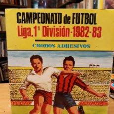 Coleccionismo deportivo: ALBUM DE FUTBOL LIGA 1ª DIVISION 1982 83 CROMOS ADHESIVOS FALTAN 72 CROMOS. Lote 212060961