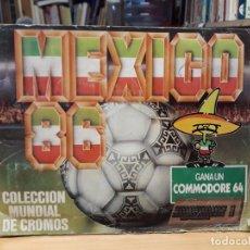 Coleccionismo deportivo: ÁLBUM MÉXICO 86 INCOMPLETO A FALTA DE 2 CROMOS. Lote 212062507
