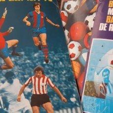 Coleccionismo deportivo: ALBUM LIGA 1977 78 77 78 FHER DISGRA CASI PLANCHA CON DIFÍCIL SUPLEMENTO ROMPECABEZAS CRUYFF IRIBAR. Lote 212171228