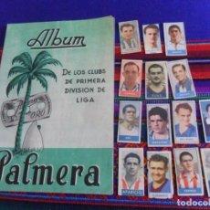 Coleccionismo deportivo: ÁLBUM VACÍO CUCHILLAS AFEITAR PALMERA DE LOS CLUBS FÚTBOL PRIMERA DIVISIÓN LIGA 45 46 Y 48 49.. Lote 153666062