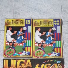 Collectionnisme sportif: LOTE ALBUNES LIGA 95-96,97-98,98-99 LEER. Lote 212802456