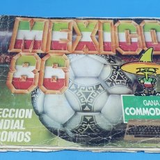 Coleccionismo deportivo: ÁLBUM DE FUTBOL MÉXICO 86 - CROMOS BARNA. Lote 213303335