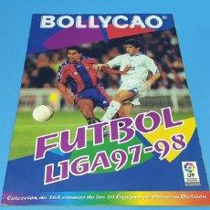 Coleccionismo deportivo: ÁLBUM DE CROMOS - FUTBOL LIGA 97-98 - BOLLYCAO. Lote 213688590